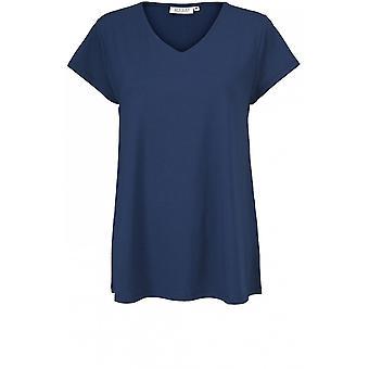 Masai Vêtements Digna Medieval Blue Jersey Top