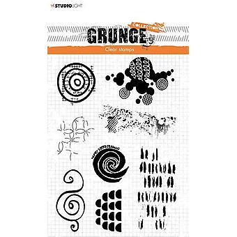 Studio Light Stamp Grunge Collectie 4 0 no.451 STAMPSL451 210x74mm