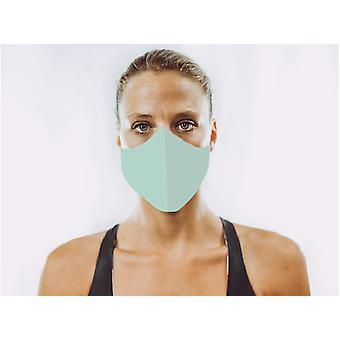 Non-Medical Face Mask | 12. Seafoam - M ( fits most teenagers, adults 165-180 cm )