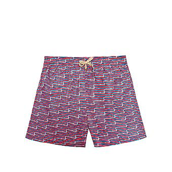 Benibeca Men's Nanumea Printed Swim Shorts