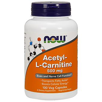Now Foods Acetyl L-Carnitine 500 mg 100 Capsule