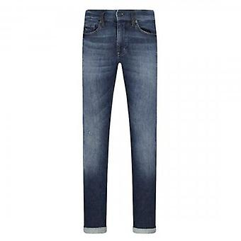 Boss Orange Hugo Boss Delaware BC-L-P District Blue Distressed Slim Fit Jeans 429 50426812