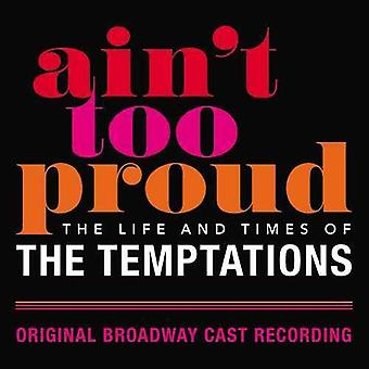 Ain't Too Proud: Life & Times Of Temptations / Obc [CD] USA import