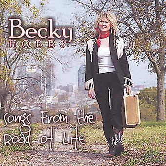 Becky Hobbs - sange fra the Road of Life [CD] USA import