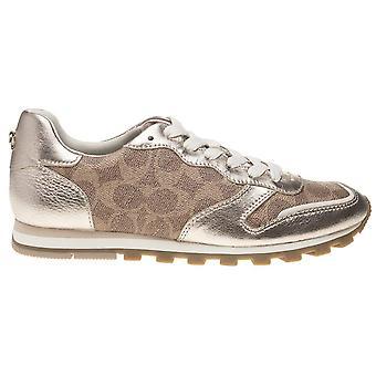 Coach Damen c118 Canvas Low Top Lace Up Fashion Sneakers