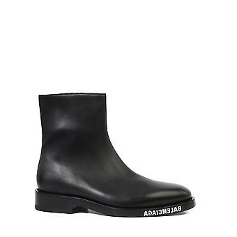 Balenciaga 590717wa7201000 Men's Black Leather Ankle Boots