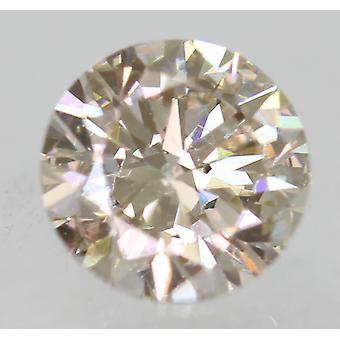 Certifierad 0,50 Carat J VVS2 rund briljant förstärkt Natural Loose Diamond 5.05 m