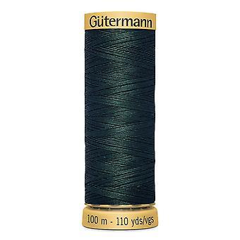 Gutermann 100% naturlig bomuldstråd 100m hånd- og maskinfarvekode - 8113