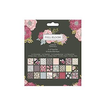 Papermania Full Bloom 6x6 Inch Paper Pad