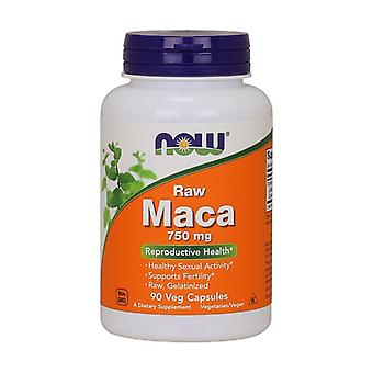 Maca Raw 750 mg 90 vegetable capsules