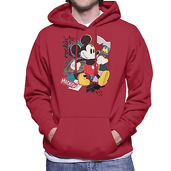 Disney Mickey Mouse retro Pop Art miesten ' s huppari