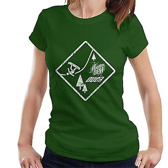 Mountain Dew Snowboarding Sign Women's T-Shirt