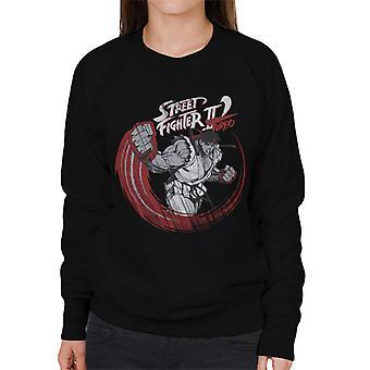 Street Fighter II Turbo Ryu Sketch Women's Sweatshirt
