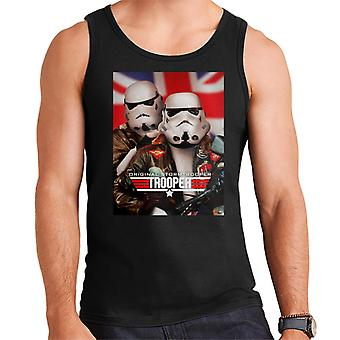 Originale Stormtrooper Top Trooper Parody Uomini's Vest