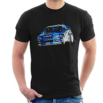 Motorsport Afbeeldingen Subaru Impreza WRC Men's T-shirt
