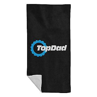 Top Dad Top Gear Logo Beach Towel