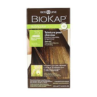 Hair color Delicate rapid 7.0 Medium natural blonde 135 ml