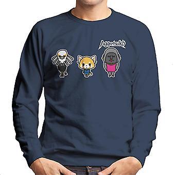 Aggretsuko Gori Washimi Retsuko Men's Sweatshirt