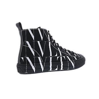 فالنتينو عالية الأعلى حذاء أسود UY2S0D51JKY0NI الحذاء