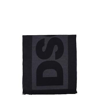 Dsquared2 Scm001501w01070m481 Uomini's Sciarpa in lana nera
