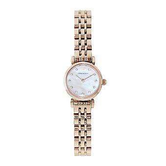 Armani Watches Ar11203 Women's Skinny Two Tone Rose Gold Watch