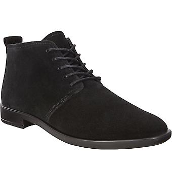 Ecco Womens Shape M 15 Mocka Casual Fashion Ankle Desert Boots - Svart