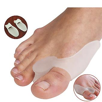 2pcs Silicone Gel - Bunion Splint , Big Toe Separator , Overlapping Spreader