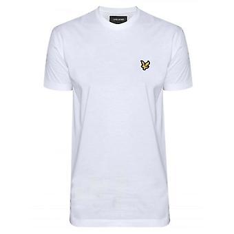 Lyle & Scott White Crew Neck T Shirt