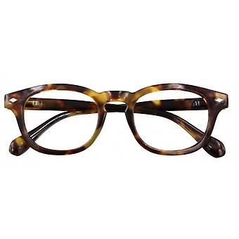 Reading glasses Unisex Bowie multifocal brown strength +1.00