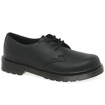 Dr. Martens Everlet Junior 3 Eye Boys School Shoes