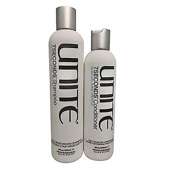 Yhdistä 7 sekuntia Päivittäinen kosteus shampoo 10 OZ & Hoitoaine 8 OZ Set