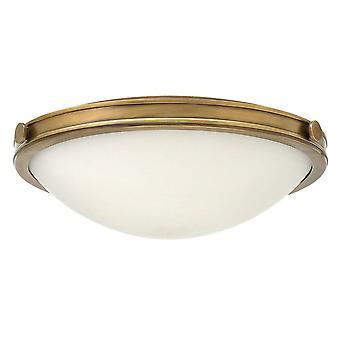 Elstead Collier - 3 leichte mittlere Decke Flush Light Brass, E27
