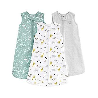 Simple Joys by, Grey/Mint/Animals Green, Size Small: 0-3 Maanden, tot 12,5