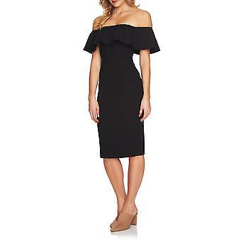 1.State | Off Shoulder Ruffle Dress