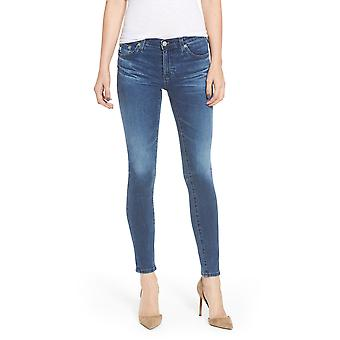 AG Adriano Goldschmied | O Legging Ankle Low-Rise Skinny Jeans