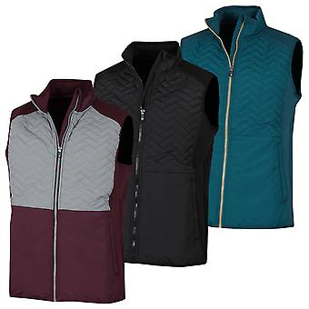 Proquip Mens 2020 Gust Therma Windproof Light Stretch Matelassé Gilet thermique