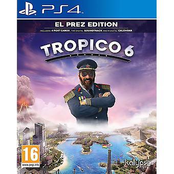 Tropico 6 El Prez Edition PS4 Game