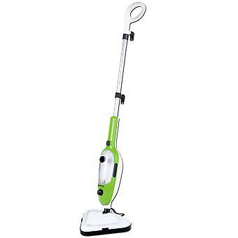 Steam mop 8-in-1 - Vihreä