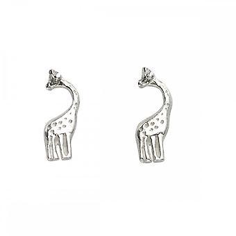 بدايات الجنيه الاسترليني الفضة A969 الزرافة مسمار الأقراط