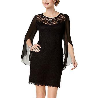 Connected Apparel | Lace Chiffon Sheath Dress
