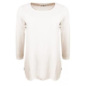 Masai Clothing Cilla Cream Jersey Top
