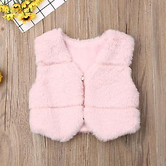 Winter Autumn Vest Warm Waistcoat Kids Outerwear Cloths