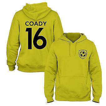 Conor Coady 16 Wolves Style Player Football Hoodie