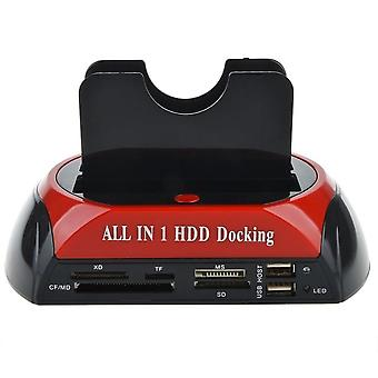 Multifunctional Hdd Docking Station, Ide Sata External Hdd Box, Hard Disk Drive