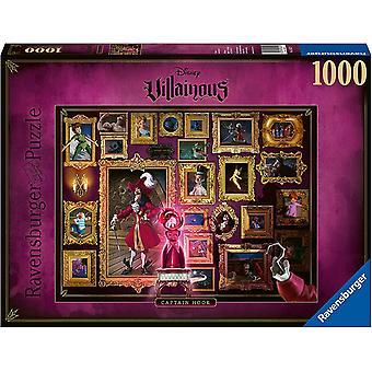 Ravensburger Villainous Captain Hook 1000 Piece  Jigsaw Puzzle
