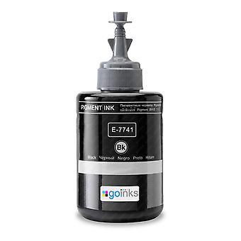 Schwarze XL Tintenflasche ersetzt Epson T7741 Kompatibel/Nicht-OEM von Go Tinten