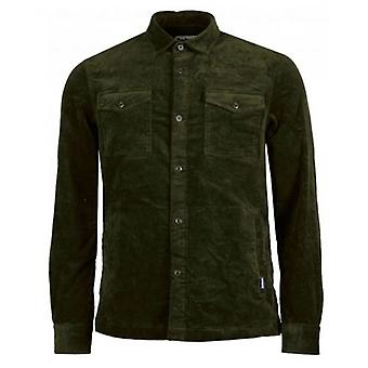 Barbour Stretch Cord Button Through Overshirt