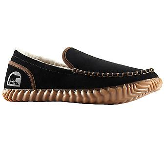 Sorel Dude Moc Slippers - Black