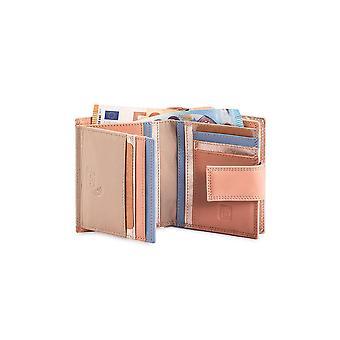 Primehide Small Womens Leather Wallet RFID Blocking Card Purse Ladies 8084
