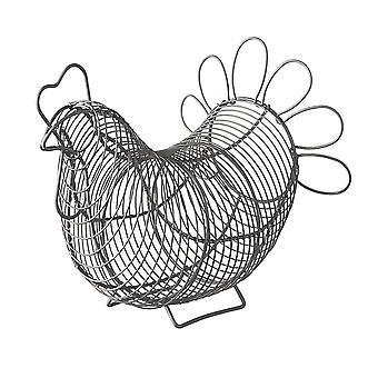Eddingtons Chicken Egg Basket, Grijs